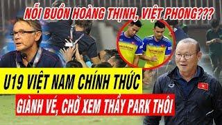 Tin Bóng Đá Việt nam 11/11: U19 Việt Nam Xuất Sắc Giành Vé, Chờ Xem Việt Nam vs UAE