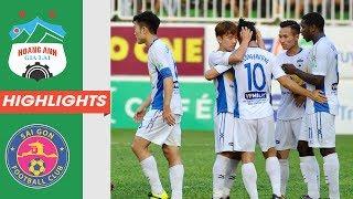Nhìn lại V.League 2018 | HAGL - Sài Gòn FC | Xuân Trường và đồng đội lội ngược dòng siêu kịch tính
