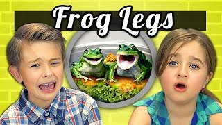 KIDS vs. FOOD #9 - FROG LEGS
