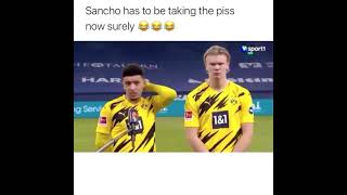 Sancho interview (losing his English accent)