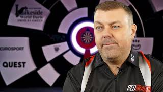 Wez Newton ahead of his clash with Paul Hogan - World professional Darts Championship