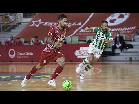 ElPozo Murcia Costa Cálida - Real Betis Futsal Jornada 26 Temp 20-21