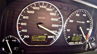 VW Golf MK 2 VR6 Turbo 900 HP Brutal Acceleration 0-250
