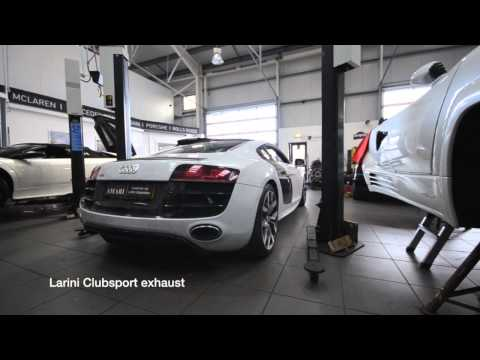Audi R8 V10 Larini Clubsport Exhaust