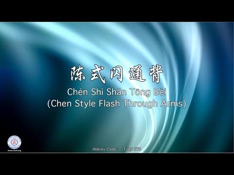 Chén Shì Shǎn Tōng Bèi TJQC STB (Chen Style Flash Through Arms)