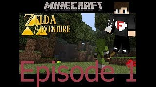Minecraft map Zelda Adventure épisode 1