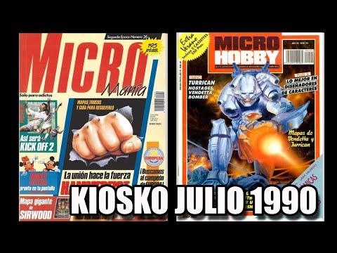 MICROMANIA MICROHOBBY KIOSKO JULIO