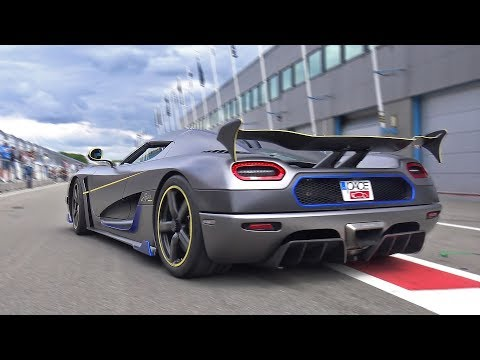 Koenigsegg Agera RS – Engine Start & Accelerations!