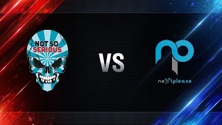 Not So Serious vs NextPlease - day 4 week 5 Season I Gold Series WGL RU 2016/17