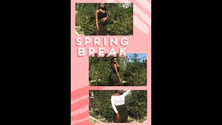 How to style a navy green skirt (mini spring outfit Lookbook 1)