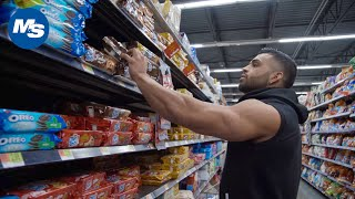 Grocery Shopping with Physique Pros | Gerardo Gabriel's Off-Season Grocery Run