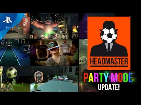 Headmaster - Party Mode Update Trailer | PS VR