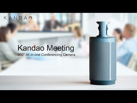 Kandao introduces AI-based 360° conference camera with Auto Focus on Speaker