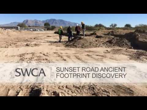 Sunset Road Ancient Footprint Discovery
