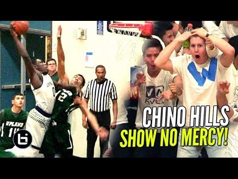 Chino Hills Show NO MERCY In Blowout Win! Eli Scott BODIES Defender!