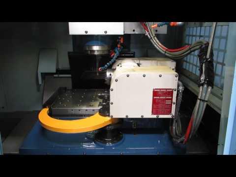 2007 MATSUURA ES550V-PC2 VMC WITH TSUDAKOMA TN-130 5TH AXIS ROTARY TABLE