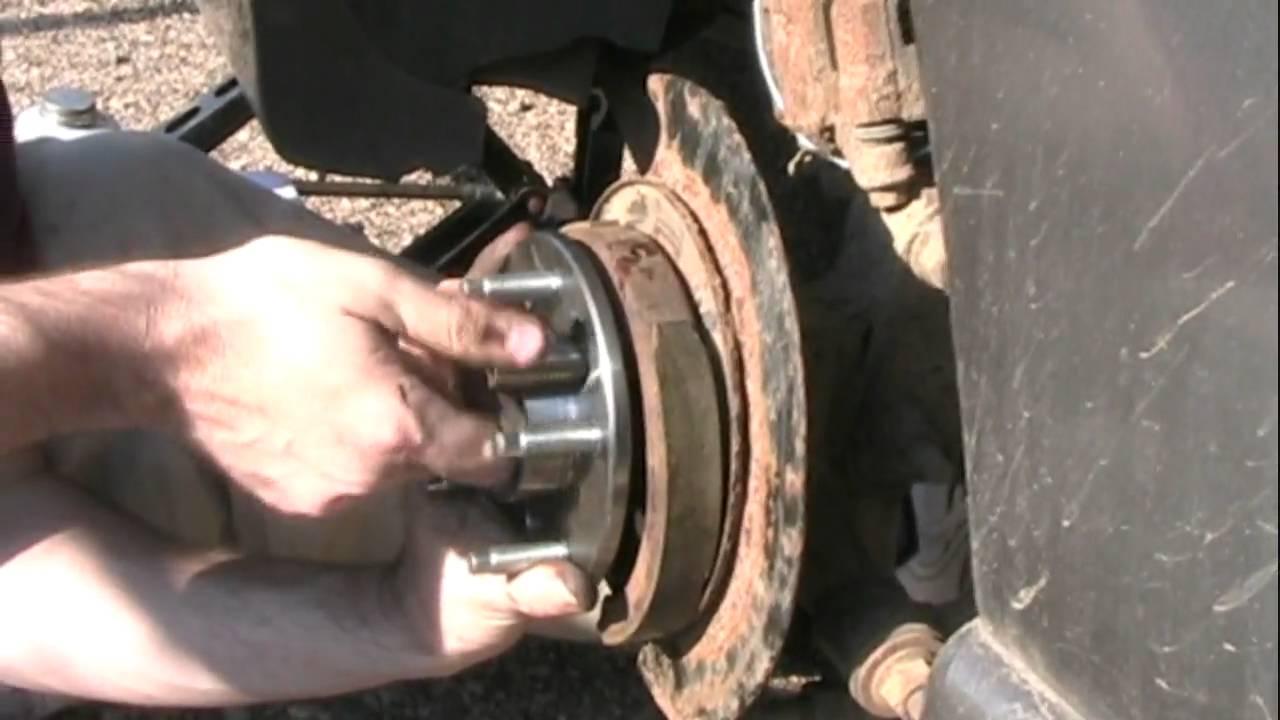 Rear Wheel Bearing Change 2002 Grand Prix Youtube