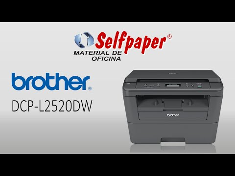 Brother DCP-L2520DW video HD, selfpaper.com