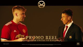Kingsman: The Golden Circle ['Manchester United VS Kingsman' Promo Reel in HD (1080p)]