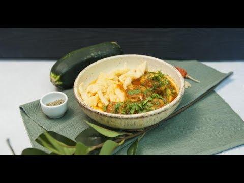 Фрикадельки из индейки с соусом и макарошками | КПЗ. Офлайн