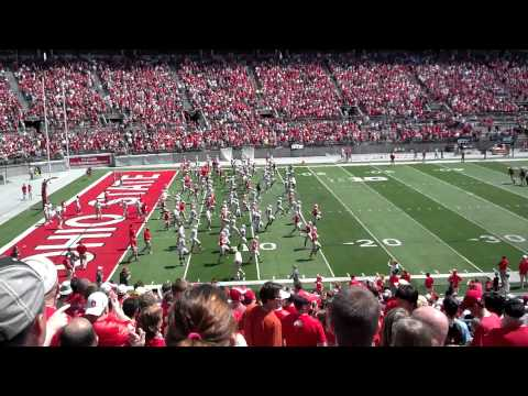 2014 spring game Ohio state buckeyes