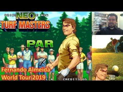 FERNANDO ALMEIDA WORLD TOUR 2019 || Neo Turf Masters (NEOGEO) || Gameplay en Español
