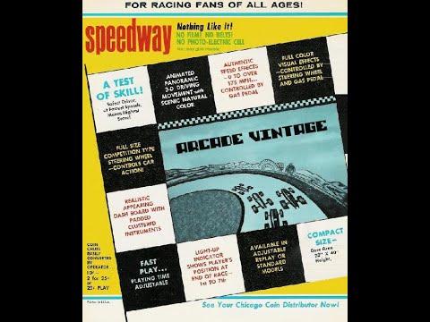 SPEEDWAY DE 1969 EN ARCADE VINTAGE
