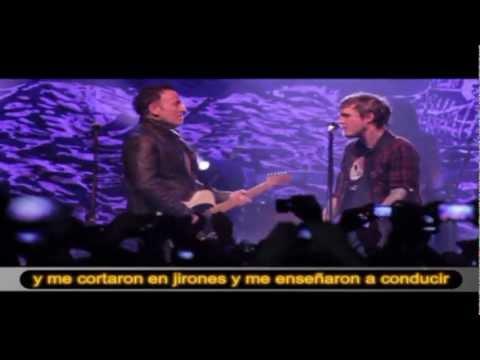 American Slang - Bruce Springsteen & the Gaslight Anthem con subtítulos en español
