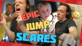 EPIC JUMPSCARES!! #2 | Try Not To Laugh Challenge 2018