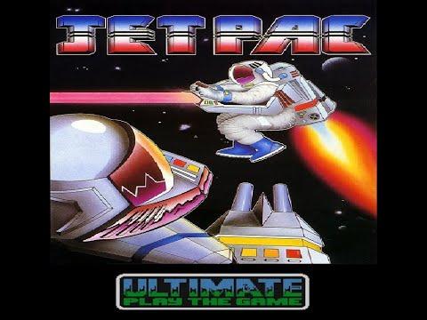 Jetpac para Commodore 64 - Review de RETROJuegos de Fabio Didone