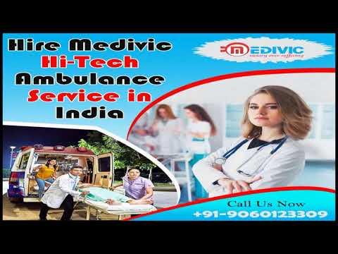 Medivic Ambulance Service in Ranchi and Kolkata with Medical Aid