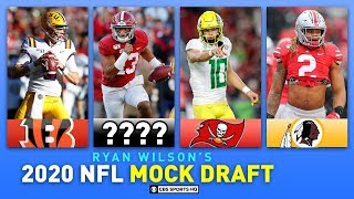 2020 NFL MOCK DRAFT Full First Round: Impact of Tua's Injury, Herbert Top 5? | CBS Sports HQ