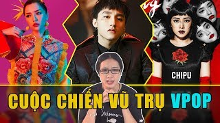 Sơn Tùng vs Bích Phương vs Chi Pu ... : Tháng 5 tháng đại chiến của các MV !