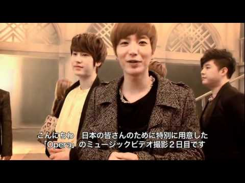 Super Junior - Opera MV Behind the Scene