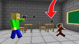 BALDİ ARDA'YA SALDIRIYOR! 😱 - Minecraft