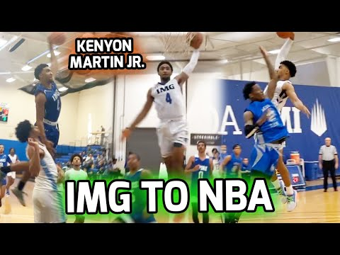Kenyon Martin Jr. Has Declared For The 2020 NBA DRAFT! Official IMG Post Grad Season Mixtape!