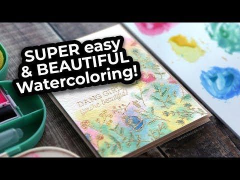 Super EASY Watercolor Technique