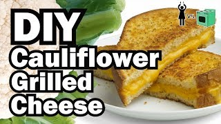 DIY Cauliflower Grilled Cheese, Corinne VS Cooking #17