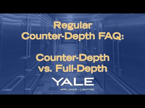 Counter-Depth vs Full-Depth Refrigerators - What's the Difference?
