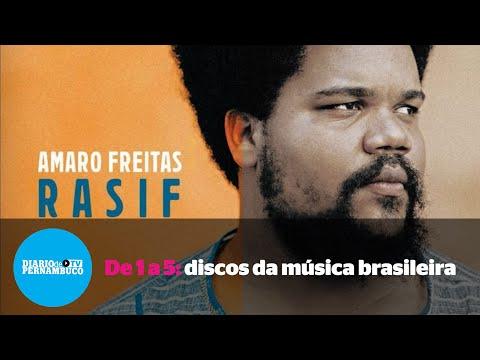 De 1 a 5: discos da música brasileira para ouvir na quarentena