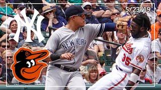 New York Yankees @ Baltimore Orioles   Yankee Highlights   5/23/19