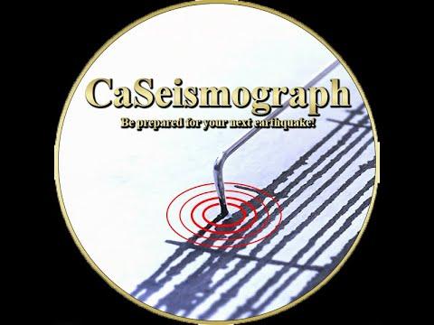 California Seismograph Live Earthquake News