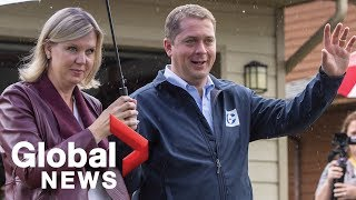 Canada Election: Andrew Scheer makes announcement in B.C. | LIVE