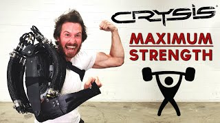 BIONIC ARM = MAXIMUM STRENGTH (Crysis Nanosuit IRL)