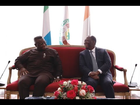 Visite d'amitié et de travail en Côte d'Ivoire de S.E.M. Julius MAADA BIO
