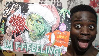 DRAWING THE GRINCH - Creating A CHRISTMAS POSTER!! (PILOT)