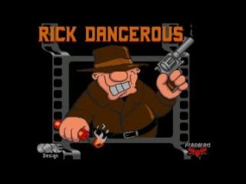 Rick Dangerous (Commodore 64) - Review de RETROJuegos por Fabio Didone