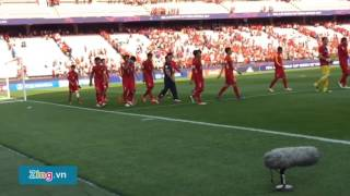 'Như có bác hồ' vang lên ngày U20 Việt Nam chia tay World Cup ở Hàn Quốc