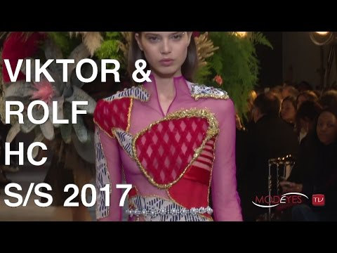 VIKTOR & ROLF | HAUTE COUTURE SPRING SUMMER 2017 | FASHION SHOW