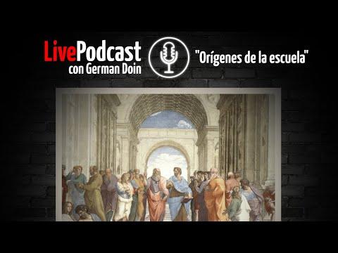 LivePodcast: Orígenes de la escuela + actualidad